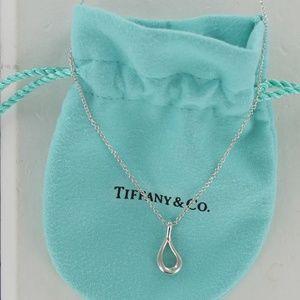Tiffany PERETTI Open Teardrop Pendant Necklace